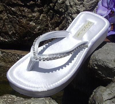 7b86e0befac0 Flip Flops Wide Width on Formal Bridal Flip Flops By Wedding Tennies Formal  Shoes