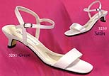 Closeout $15 Low Heel Bridal Sandals for Weddings