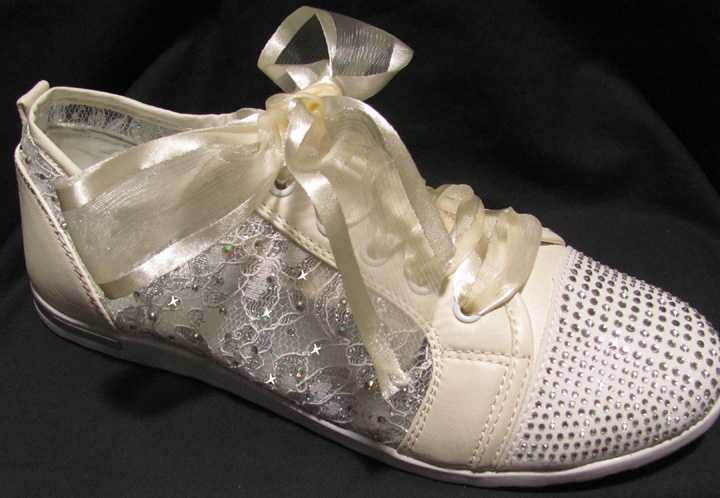 Bling Tennis Shoes For Prom