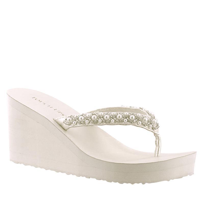 Bridal Flip Flops -- Comfortable Wedding Shoes