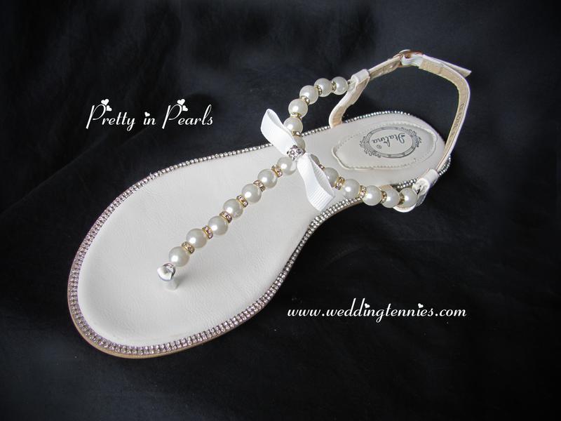 279711ec3d713f Bridal Flip Flops -- Comfortable Wedding Shoes